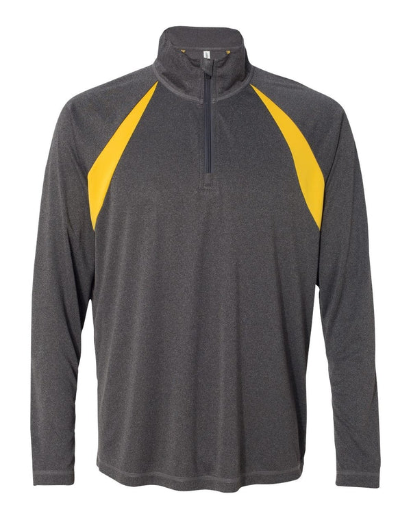 Quarter-Zip Lightweight Raglan Pullover-All Sport-Pacific Brandwear