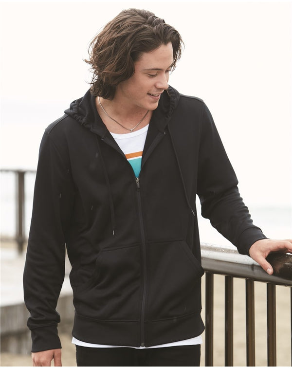 Poly Hooded Full-Zip SweatShirt-Oakley-Pacific Brandwear