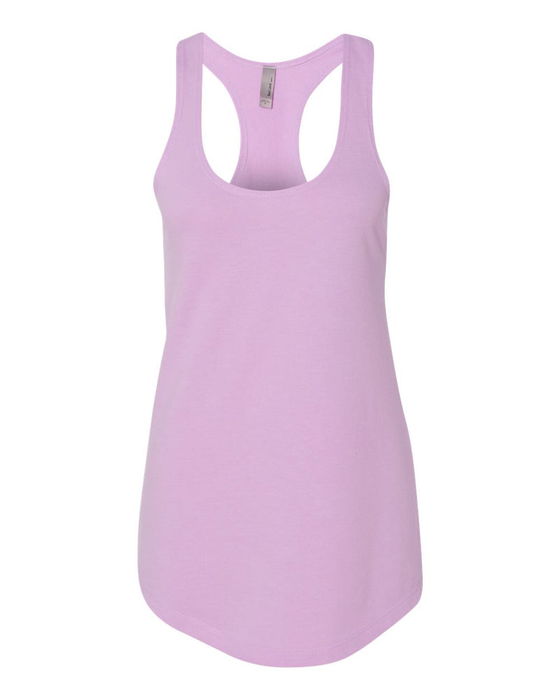 Women's Lightweight French Terry Racerback Tank-Next Level-Pacific Brandwear