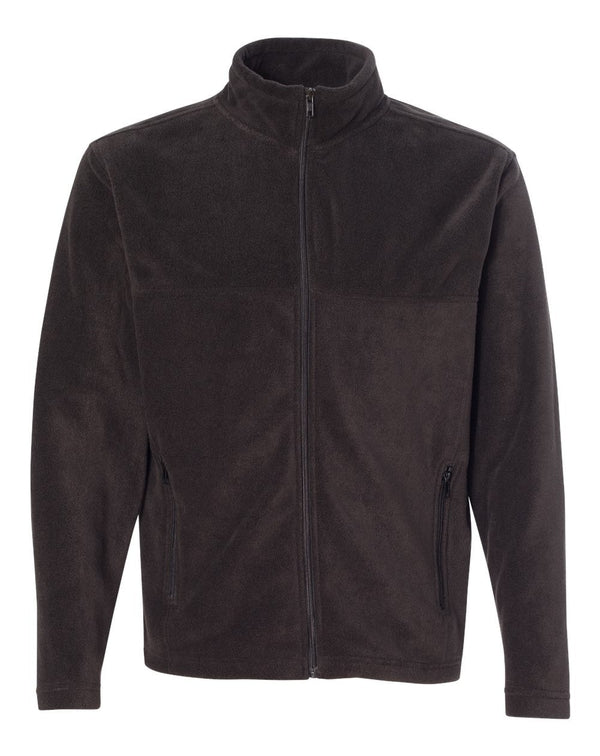 Classic Sport Fleece Full-Zip Jacket-Colorado Clothing-Pacific Brandwear
