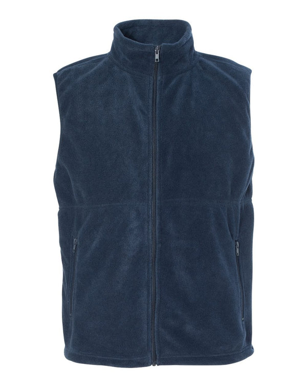 Classic Sport Fleece Full-Zip Vest-Colorado Clothing-Pacific Brandwear