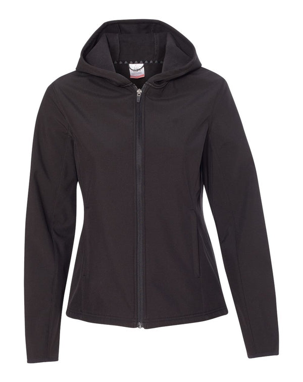 Women's Antero Hooded Soft Shell Jacket-Colorado Clothing-Pacific Brandwear