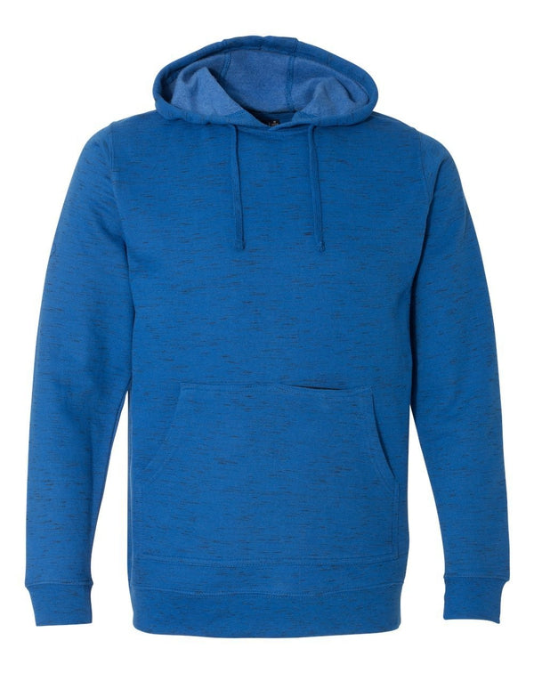 Injected Yarn Dyed Fleece Hooded Pullover Sweatshirt-Burnside-Pacific Brandwear