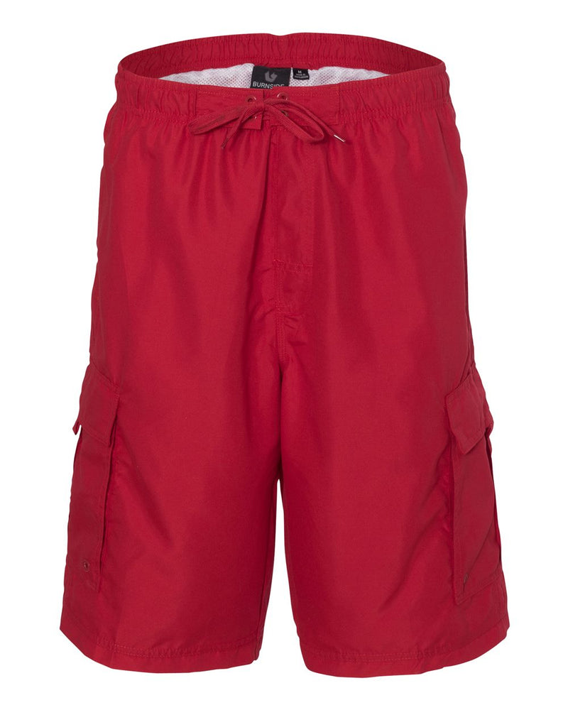 Striped Swim Trunks-Burnside-Pacific Brandwear