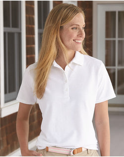 Hanes Women's X-Temp Pique Sport Shirt with Fresh IQ-Hanes-Pacific Brandwear