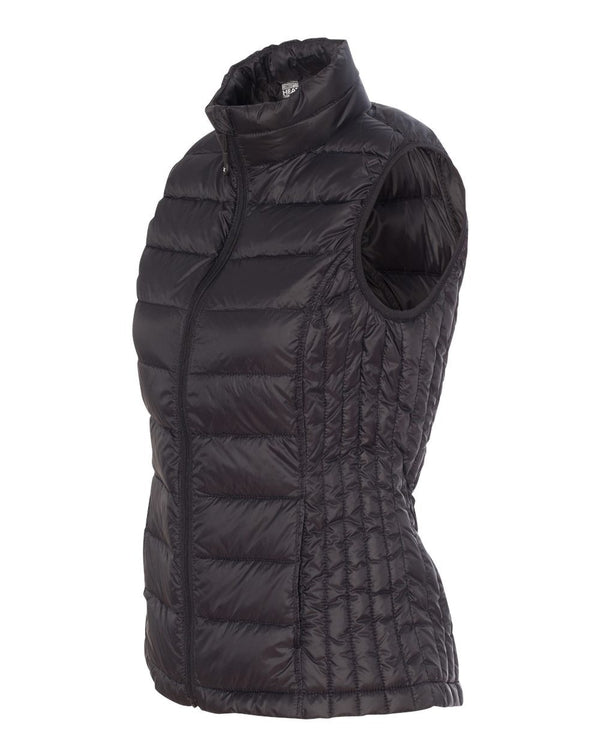 Weatherproof 32 Degrees Women's Packable Down Vest-Weatherproof-Pacific Brandwear