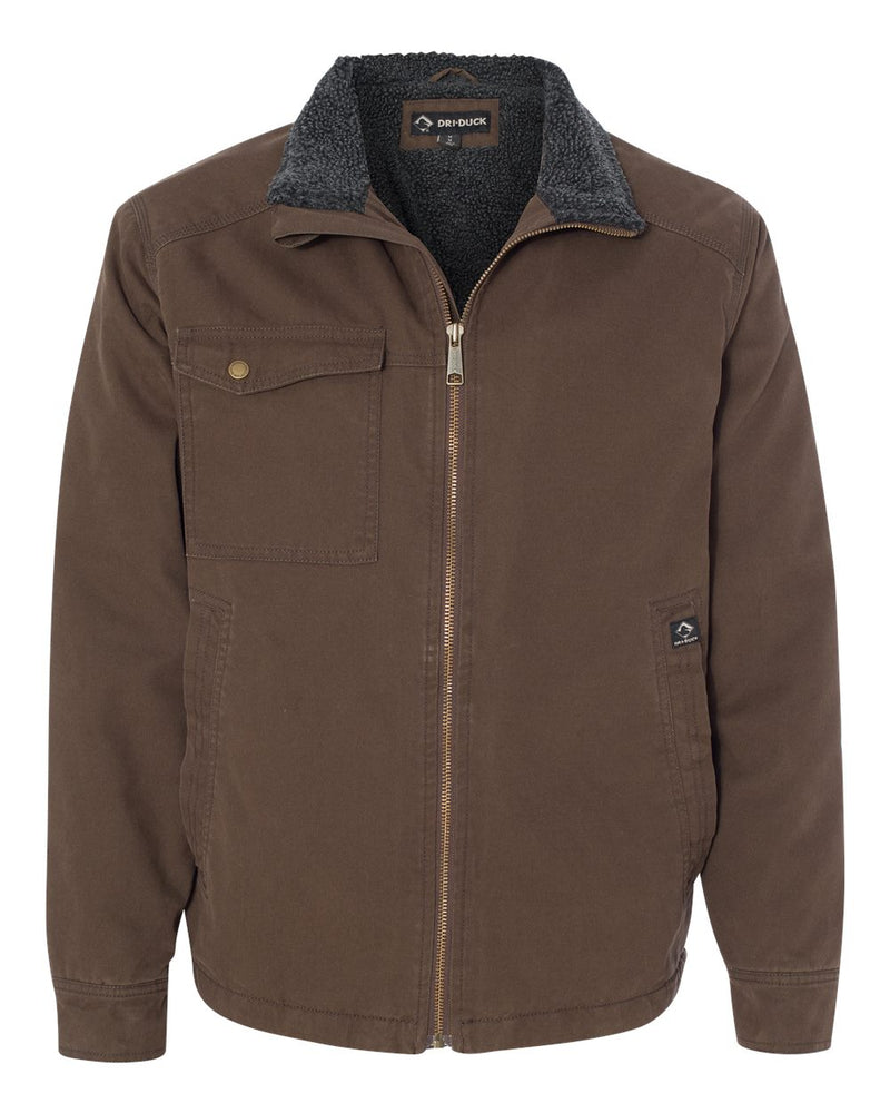 Endeavor Canyon Cloth Canvas Jacket with Sherpa Lining-DRI DUCK-Pacific Brandwear