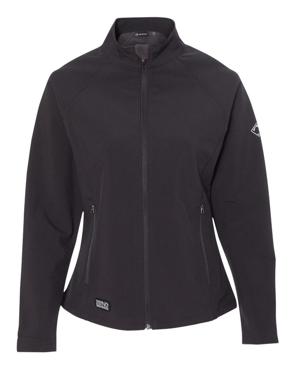 Women's Contour Soft Shell Jacket-DRI DUCK-Pacific Brandwear