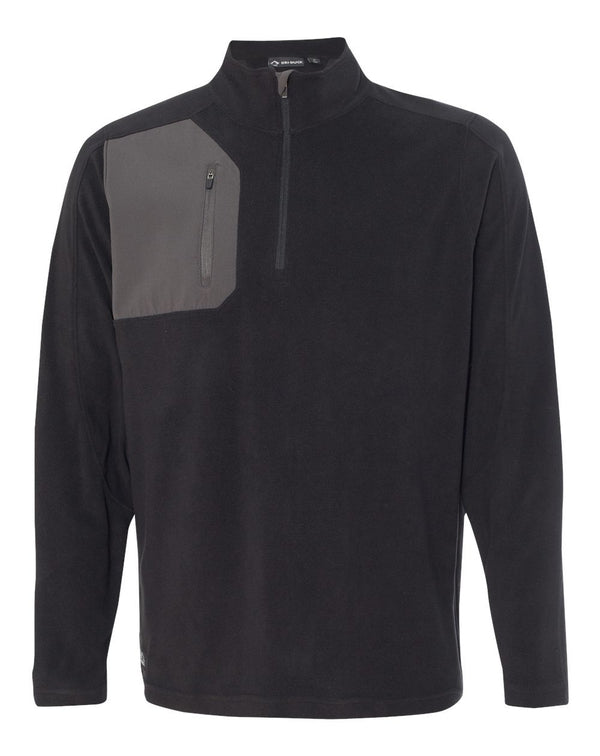 Interval DDX Quarter-Zip Nano Fleece Nylon Pullover-DRI DUCK-Pacific Brandwear