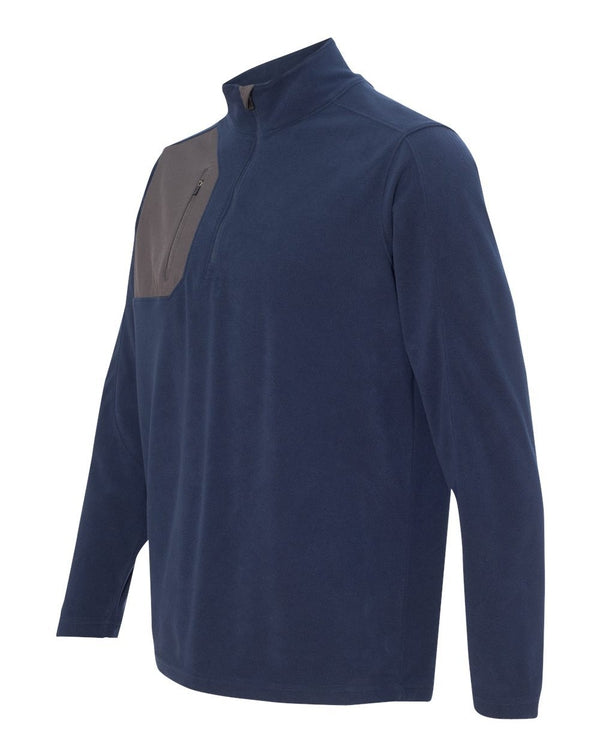 DRI DUCK Interval DDX Quarter-Zip Nano Fleece Nylon Pullover-DRI DUCK-Pacific Brandwear