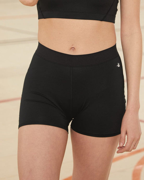 "Women's 3"" Pro-Compression Shorts-Badger-Pacific Brandwear"
