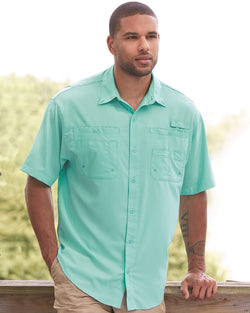 Baja Short sleeve Fishing Shirt-Hilton-Pacific Brandwear