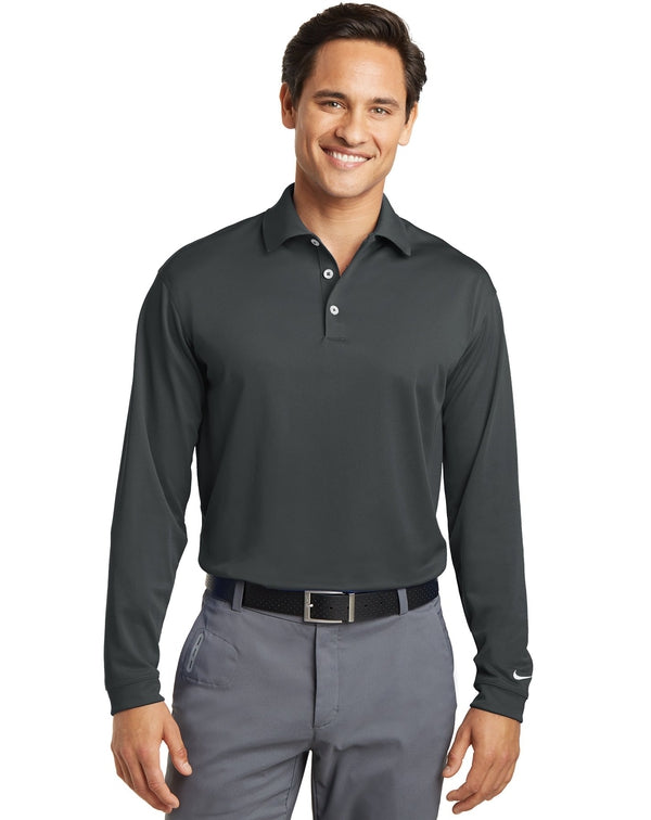 Nike Long Sleeve Dri-FIT Stretch Tech Polo-Nike-Pacific Brandwear