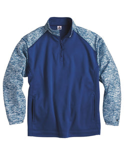 Blend Sport Performance Fleece Quarter-Zip Pullover-Badger-Pacific Brandwear