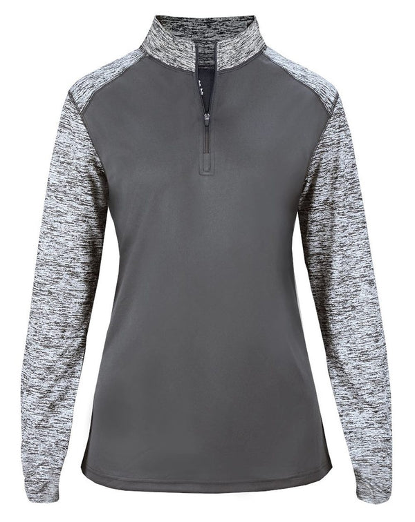 Women's Sport Blend Quarter-Zip Pullover-Badger-Pacific Brandwear