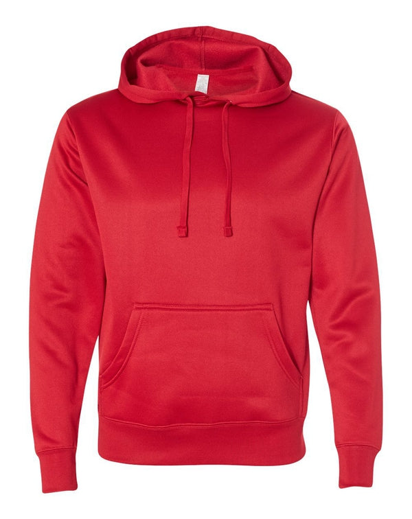 Poly-Tech Hooded Pullover Sweatshirt-Independent Trading Co.-Pacific Brandwear