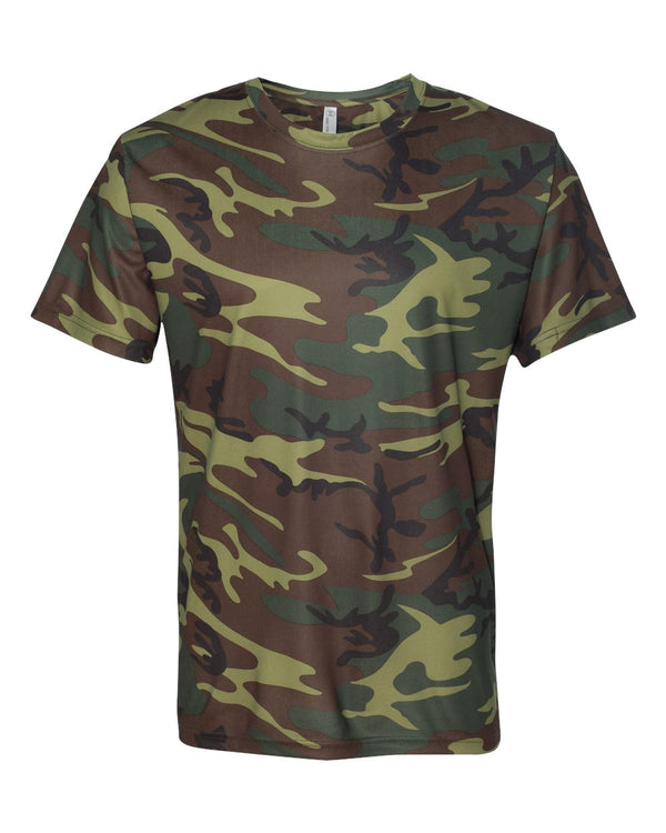 Adult Performance Camo Tee-Code Five-Pacific Brandwear