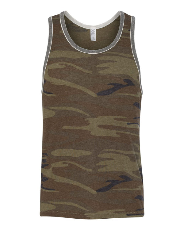 Eco-Jersey Double Ringer Tank-Alternative Apparel-Pacific Brandwear
