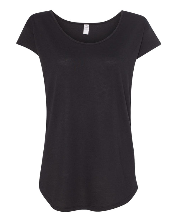 Women's Cotton Modal Origin T-Shirt-Alternative Apparel-Pacific Brandwear