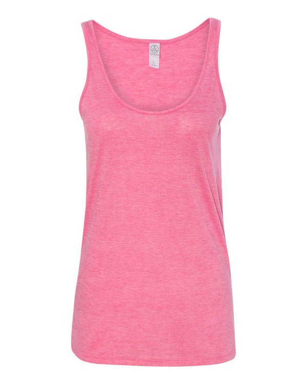 Women's M_lange Burnout Jersey Airy Tank-Alternative Apparel-Pacific Brandwear