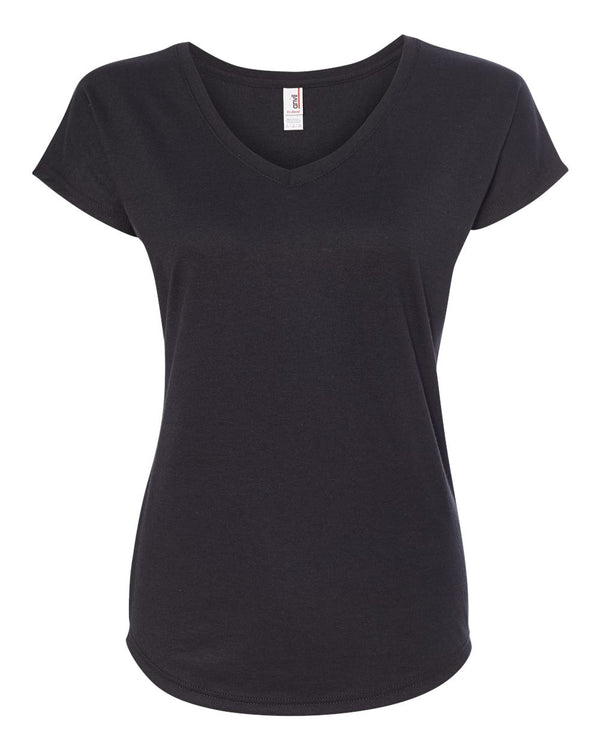 Women's Triblend V-Neck T-Shirt-Anvil-Pacific Brandwear