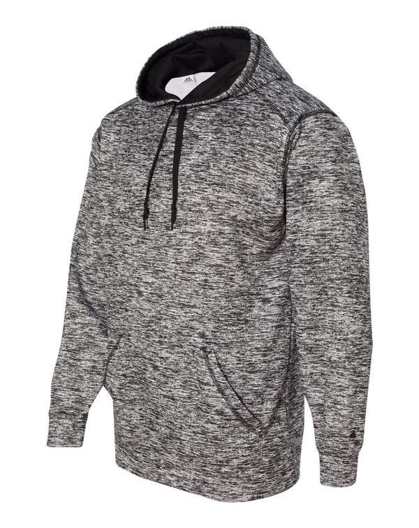 Blend Polyester Fleece Performance Hooded Sweatshirt-Badger-Pacific Brandwear