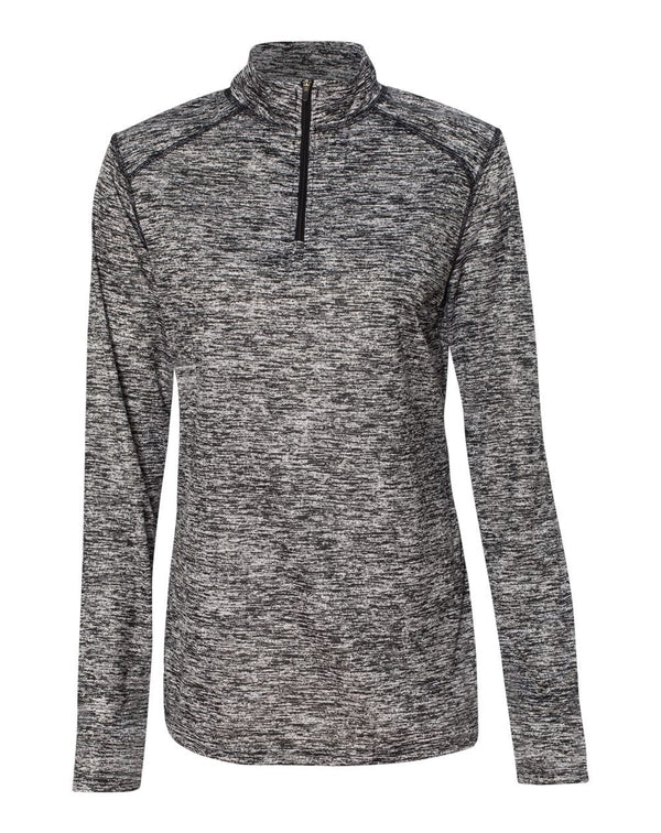 Women's Blend Quarter-Zip Pullover-Badger-Pacific Brandwear