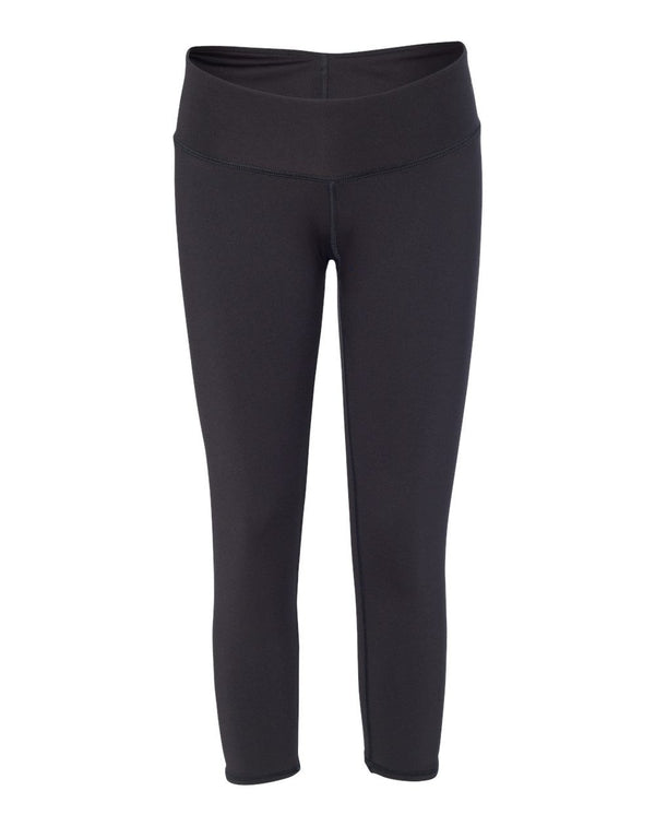 Women's Capri Leggings-Badger-Pacific Brandwear