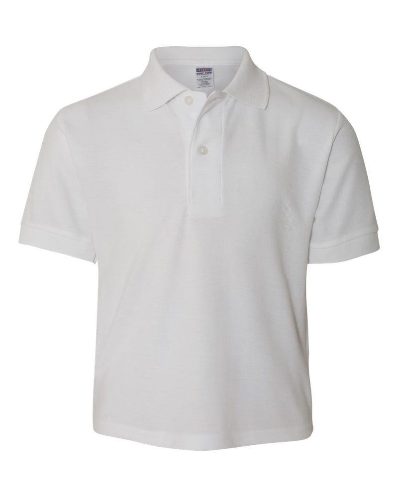 Youth Easy Care Pique Sport Shirt-JERZEES-Pacific Brandwear