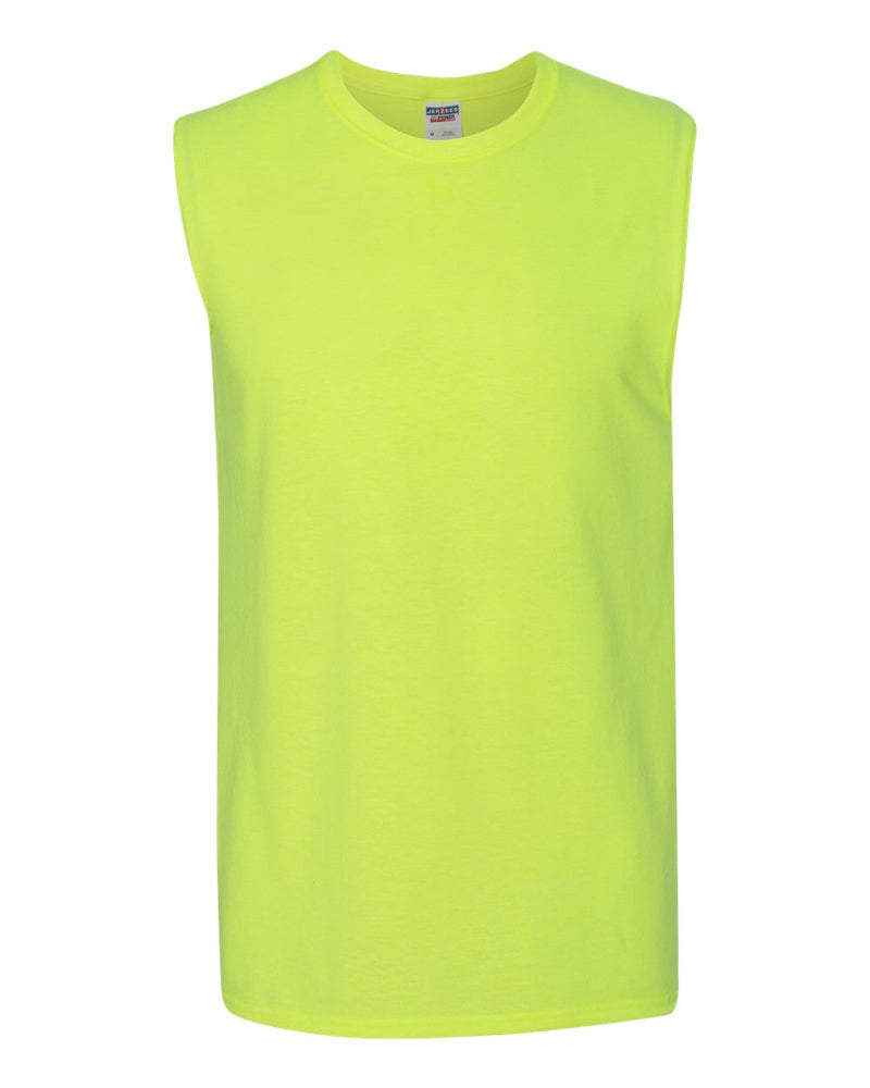 Dri-Power Active sleeveless 50/50 T-Shirt-JERZEES-Pacific Brandwear