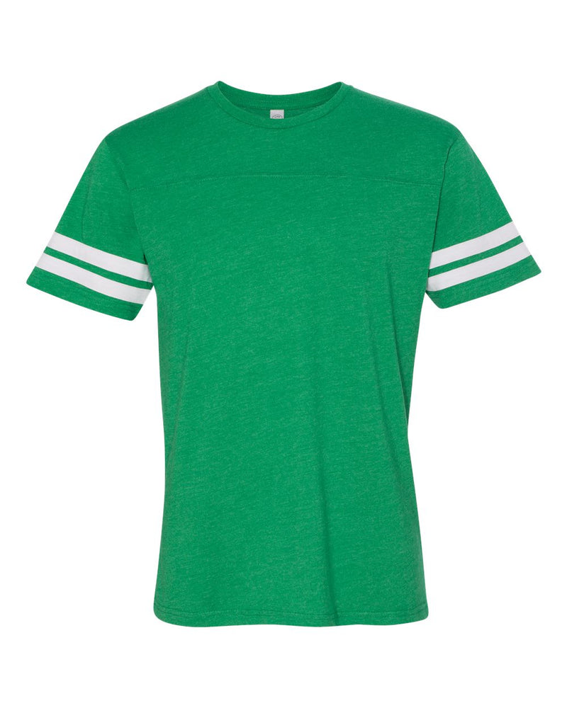 Adult Football Fine Jersey Tee-LAT-Pacific Brandwear