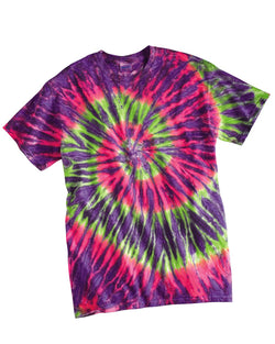 Youth Ripple Tie Dye T-Shirt-Dyenomite-Pacific Brandwear