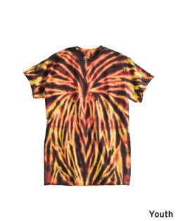 Youth Spider Tie Dye T-Shirt-Dyenomite-Pacific Brandwear