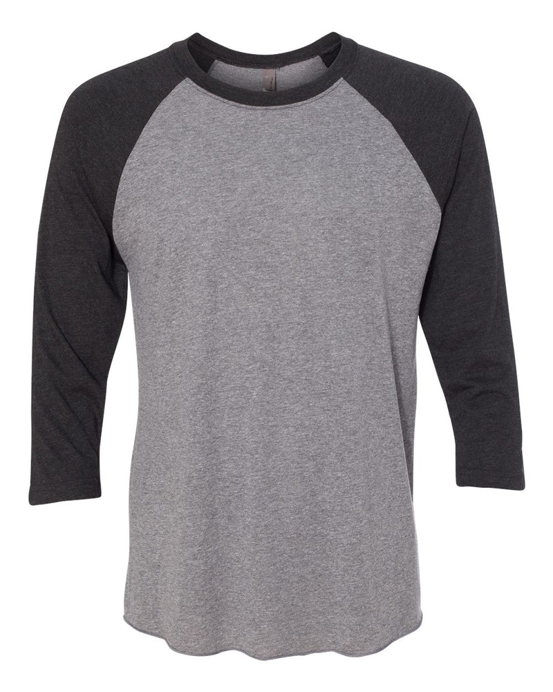 Unisex Triblend Three-Quarter sleeve Raglan-Next Level-Pacific Brandwear