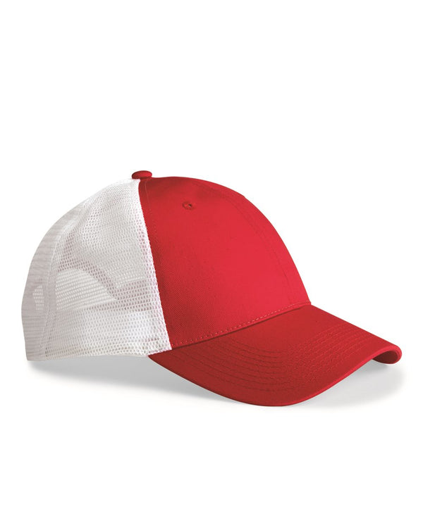 Mesh-Back Trucker Cap-Valucap-Pacific Brandwear