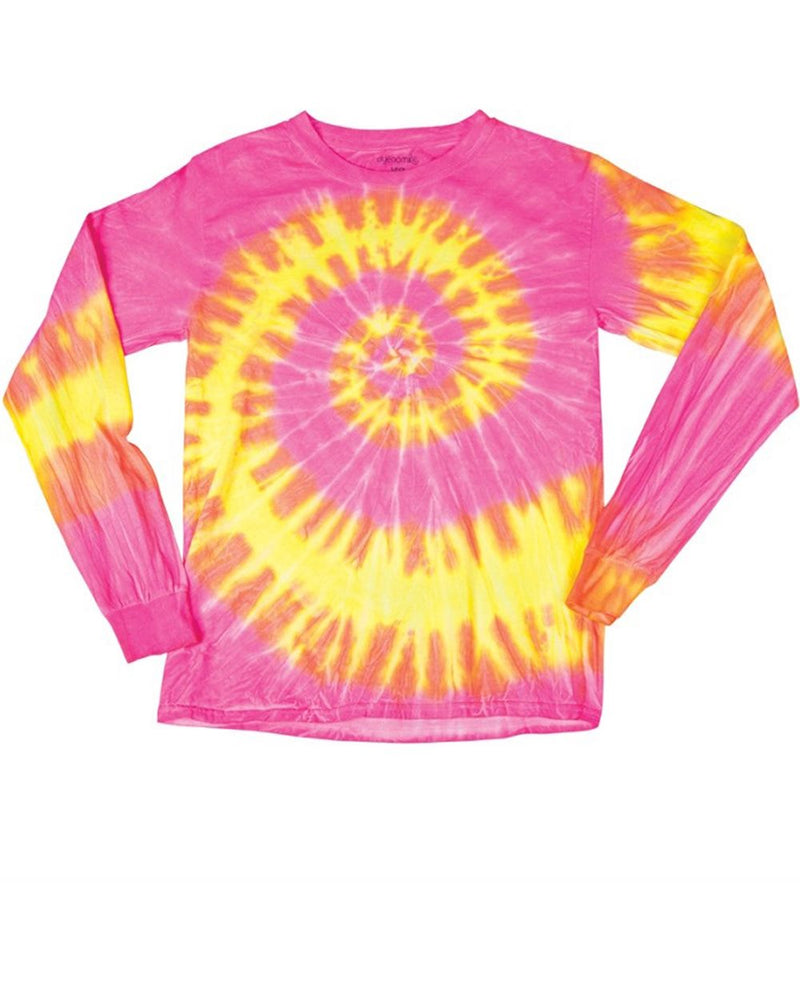 Wave Tie Dye Long sleeve-Dyenomite-Pacific Brandwear