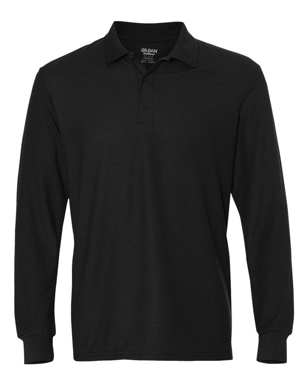 DryBlend Double Piqu_ Long sleeve Sport Shirt-Gildan-Pacific Brandwear