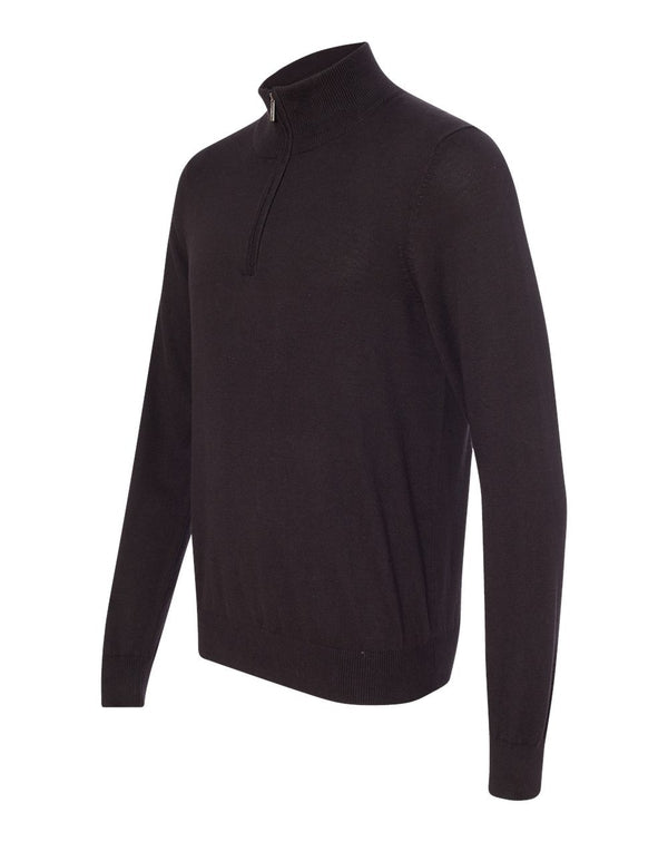 Quarter-Zip Sweater-Van Heusen-Pacific Brandwear
