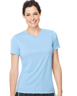 Cool DRI Women's Performance V-Neck Tee-Hanes-Pacific Brandwear