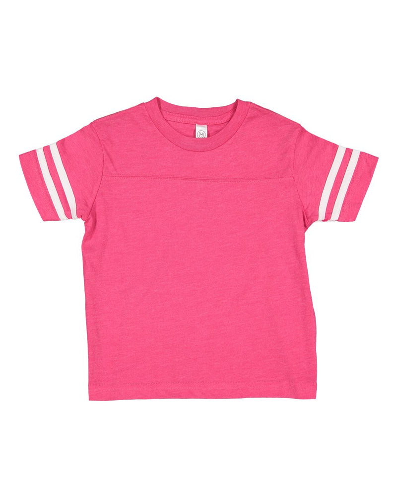 Toddler Football Fine Jersey Tee-Rabbit Skins-Pacific Brandwear