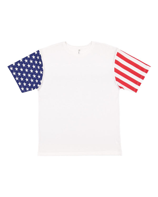 Adult Stars & Stripes Tee-Code Five-Pacific Brandwear