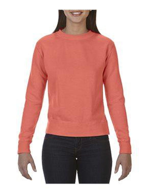 Garment-Dyed Women's Sweatshirt-Comfort Colors-Pacific Brandwear