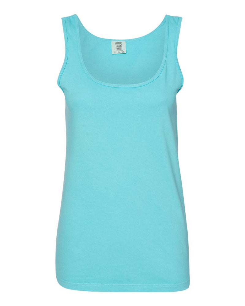 Garment-Dyed Women's Midweight Tank Top-Comfort Colors-Pacific Brandwear