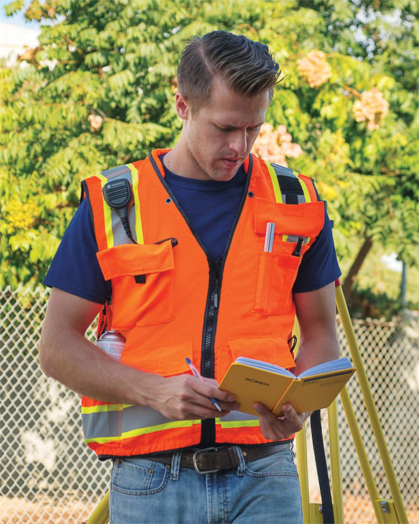 Professional Surveyors Vest-ML Kishigo-Pacific Brandwear