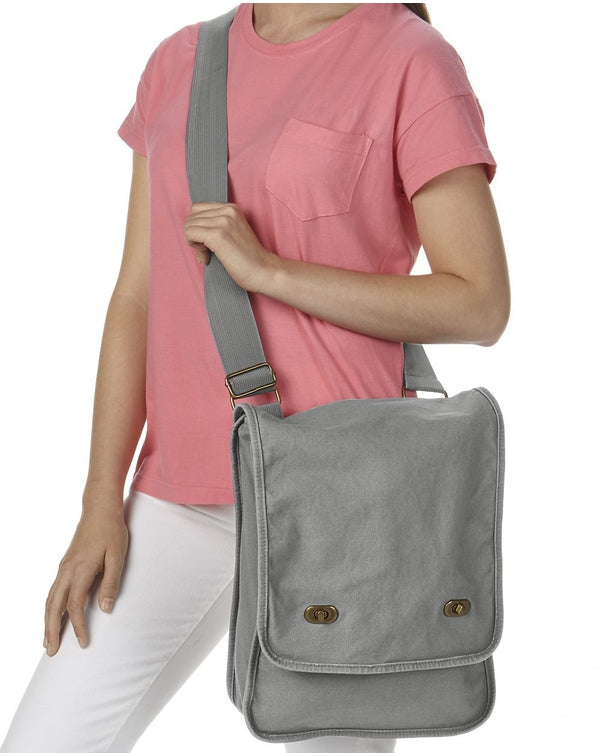 Canvas Field Bag-Comfort Colors-Pacific Brandwear