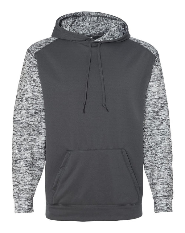 Sport Blend Performance Hooded Sweatshirt-Badger-Pacific Brandwear