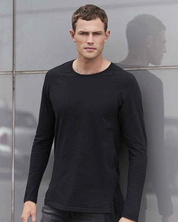 Long sleeve Lightweight Long and Lean Raglan T-Shirt-Anvil-Pacific Brandwear