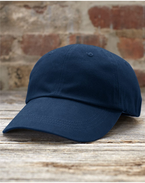 Brushed Cotton Twill Cap-Anvil-Pacific Brandwear