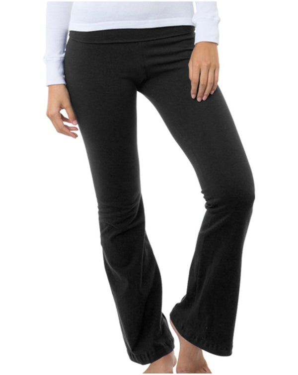 Women's USA-Made Yoga Pants-Bayside-Pacific Brandwear