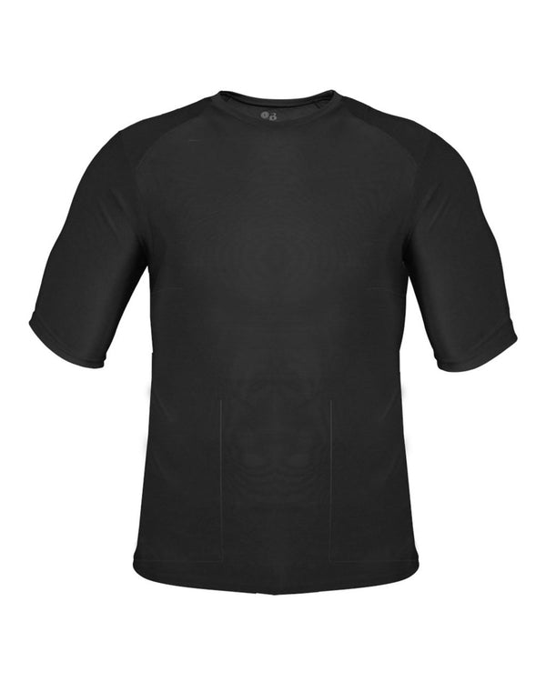 Battle Half sleeve T-Shirt-Badger-Pacific Brandwear